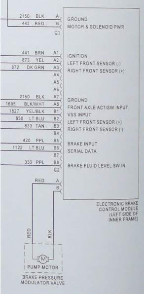 Need Wiring Diagram For Kelsey Hayes 325  To Troubleshoot
