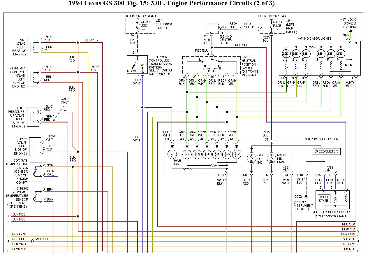 99 Lexus Gs300 Wiring Diagram Real Lighting Coil Ignition Auto Spark Plug Wire