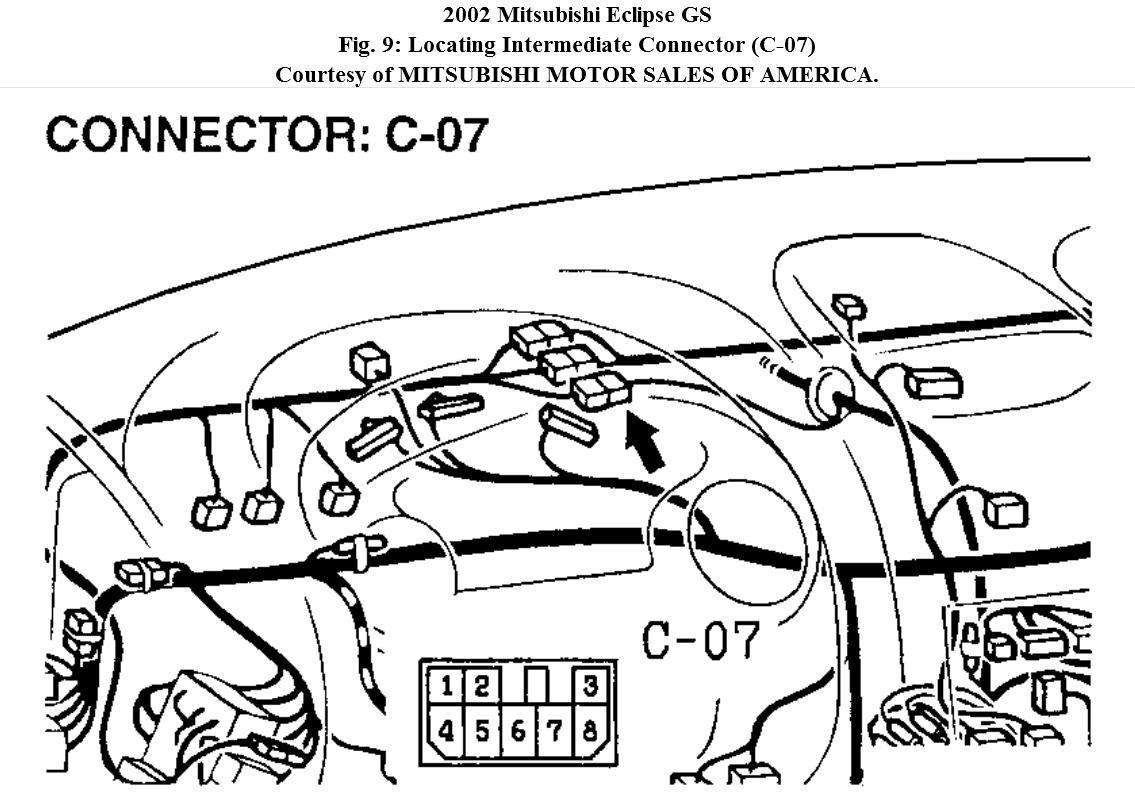 A c and radiator fan will not turn on for 2002 mitsubishi galant window regulator replacement