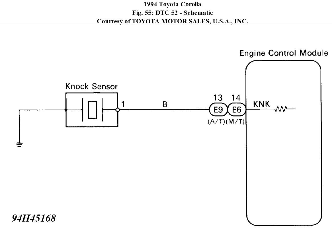 Knock Sensor Schematic | Wiring Library