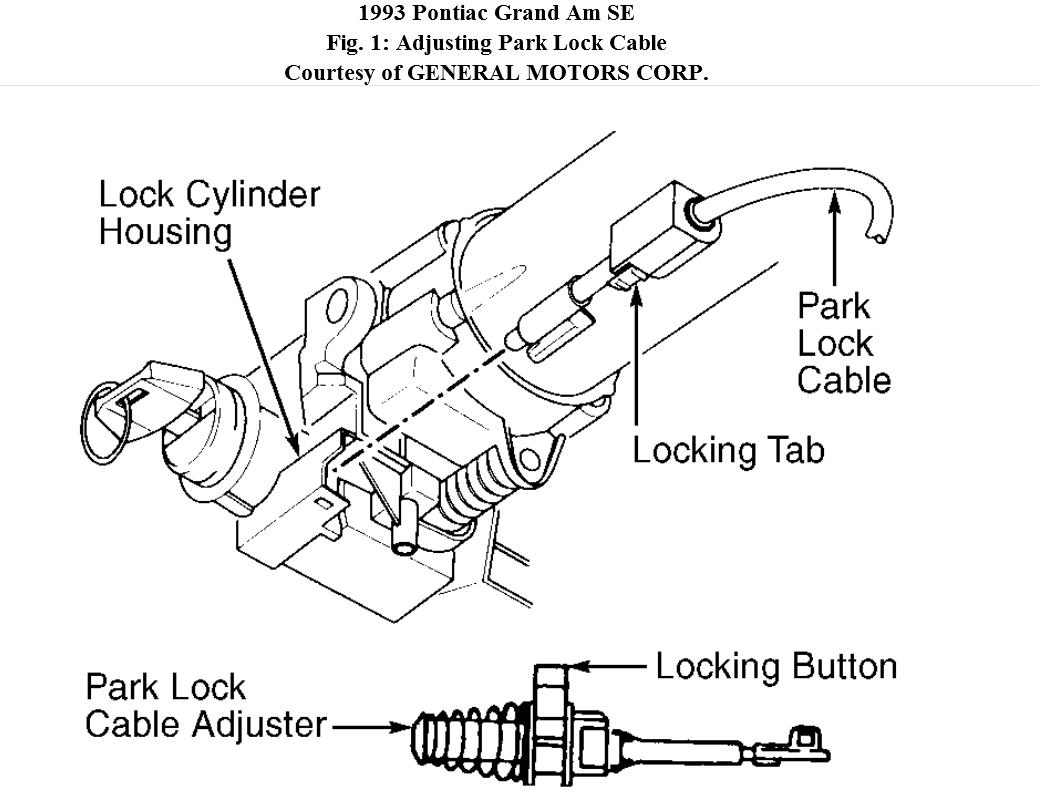 Ignition Key Is Broken My Broke Off In The Of 1993 Pontiac Grand Am Wiring Diagram Thumb