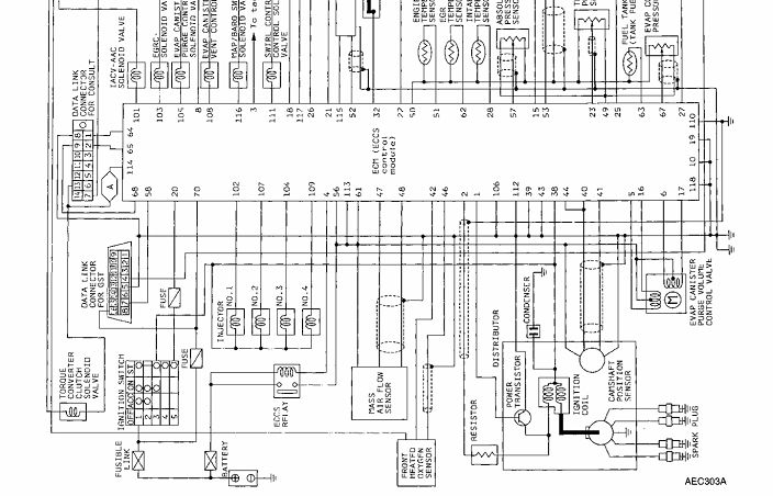 nissan 200sx headlight wiring diagram