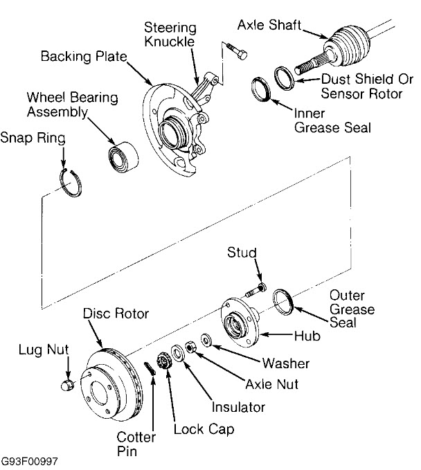 service manual  2002 nissan sentra rear differential
