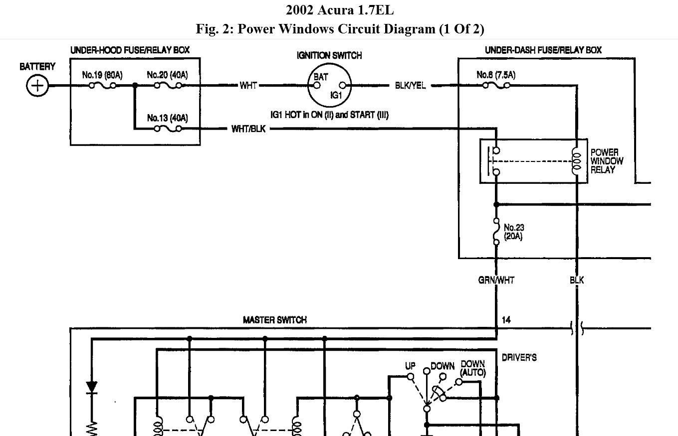 2002 acura el wiring diagram www casei store \u2022