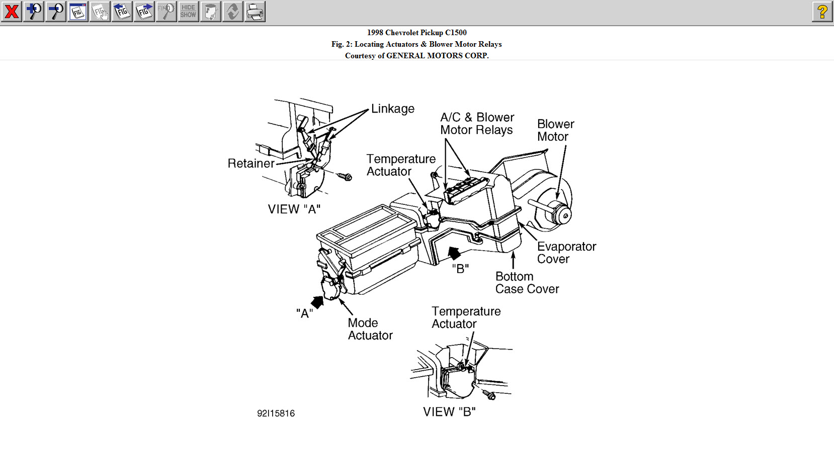 Toyota Pickup Blower Motor Wiring Diagram Additionally Toyota Pickup