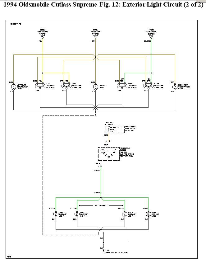 Old Cutlas Window Motor Wiring Diagram