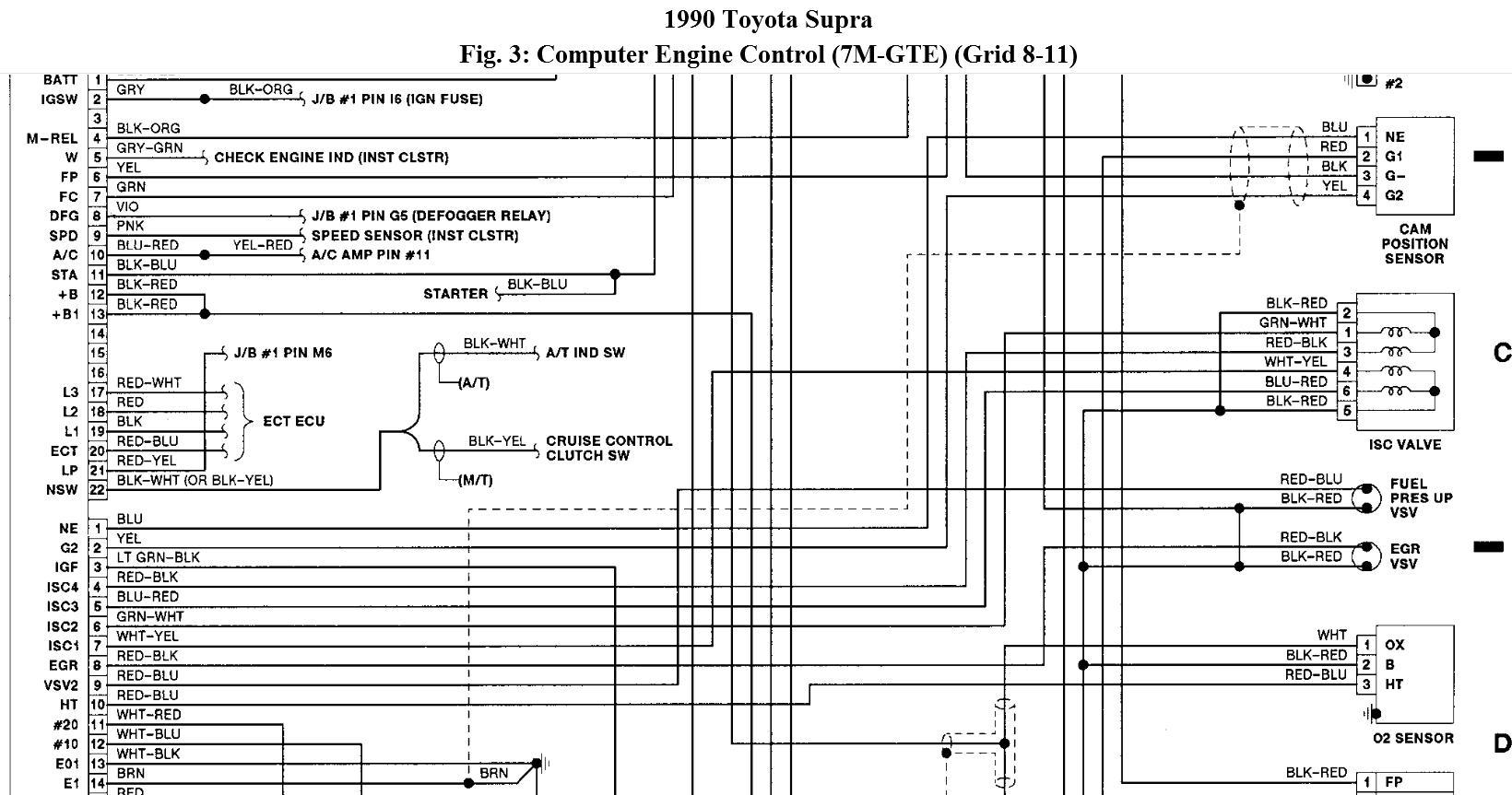 Wiring: Need Wiring Schematic for a 7m-gte Engine in a ...
