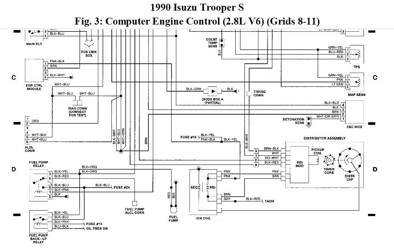 Wiring Diagram 1990 Isuzu Trooper | Wiring Diagram on
