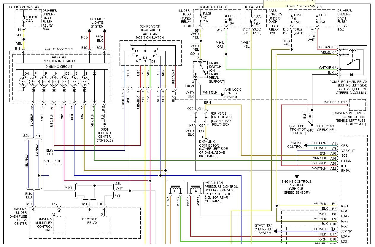 Wiring Diagram 1990 Isuzu Trooper