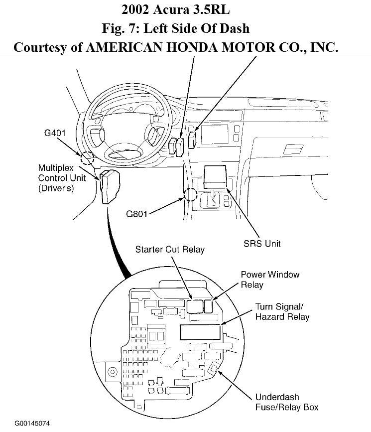 1996 acura 3 5 rl engine diagram