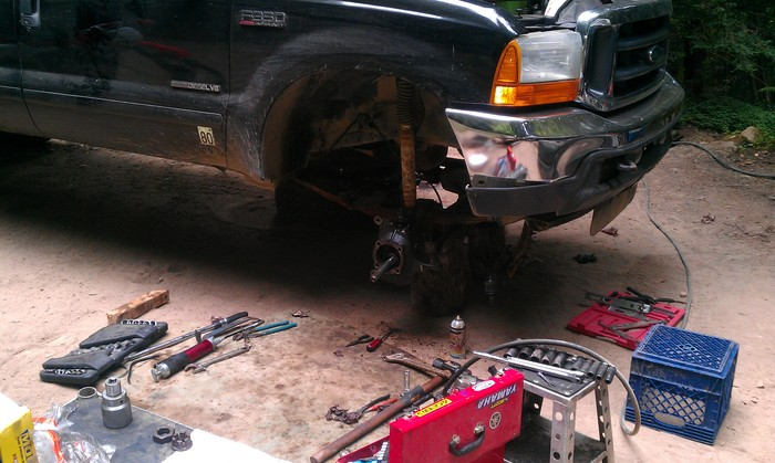 Power Stop Brakes >> 2001 Ford 7.3 Hydro Boost? Steering Problem: 2001 Ford F350 7.3 ...
