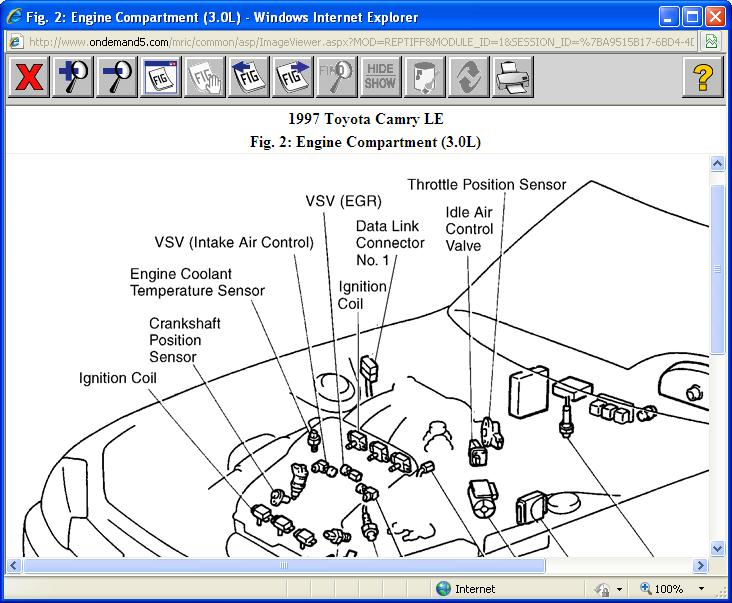 Egr Valve Location Where Is The Located In My Car Alsorh2carpros: 1997 Camry Egr Location At Gmaili.net