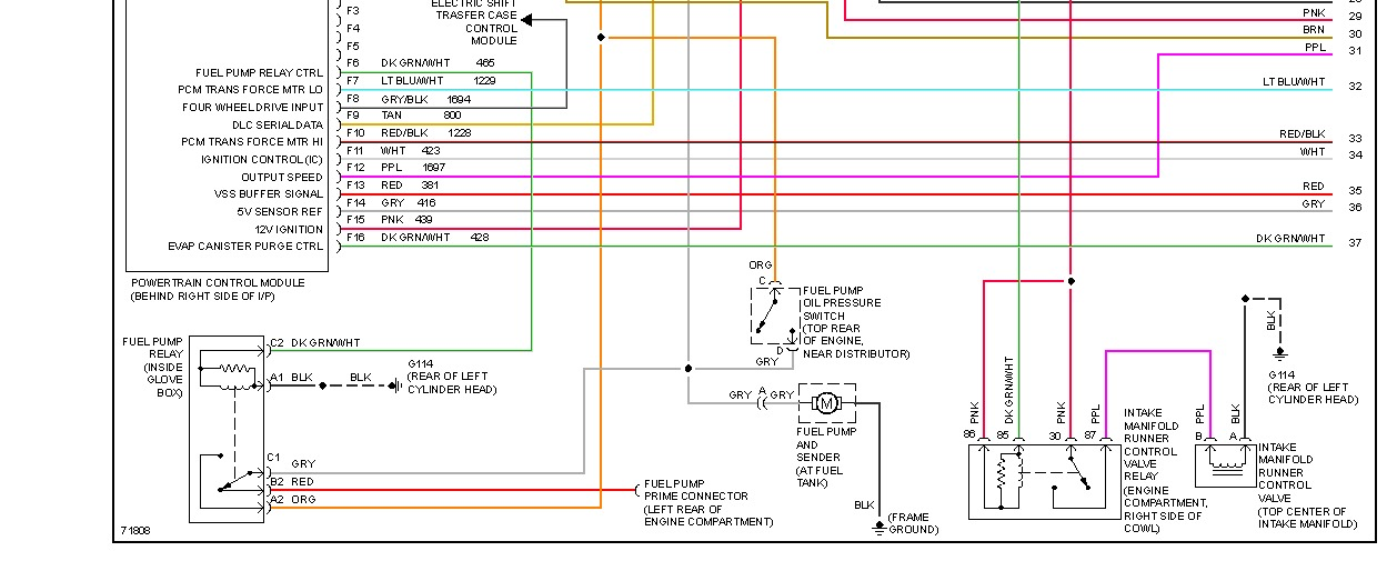 Fuel Pump Diamgram  Needing a    Wiring       Diagram    for a 1995    GMC       Sonoma