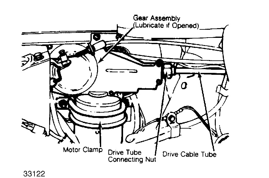 how to replace windshield wiper motor