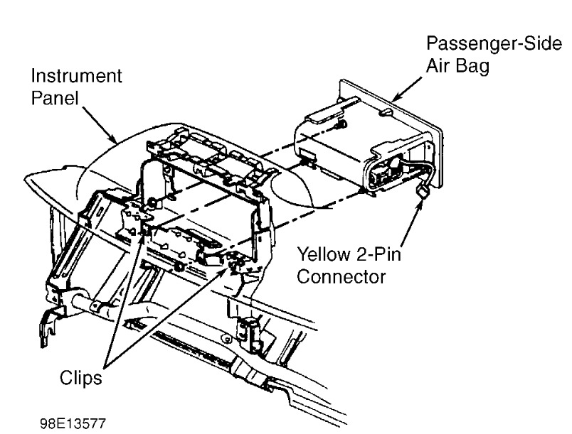 chevy airbag diagram  catalog  auto parts catalog and diagram