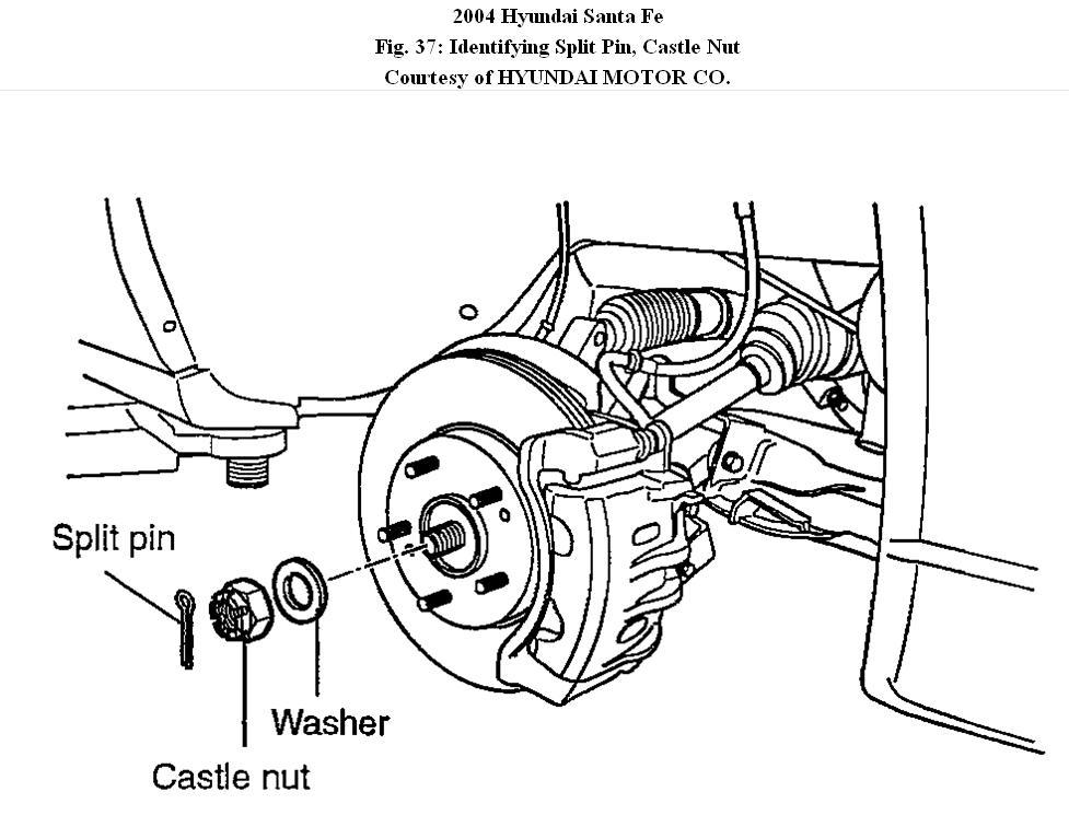 2004 Hyundai Santa Fe Wheel Assembly  Do You Have A