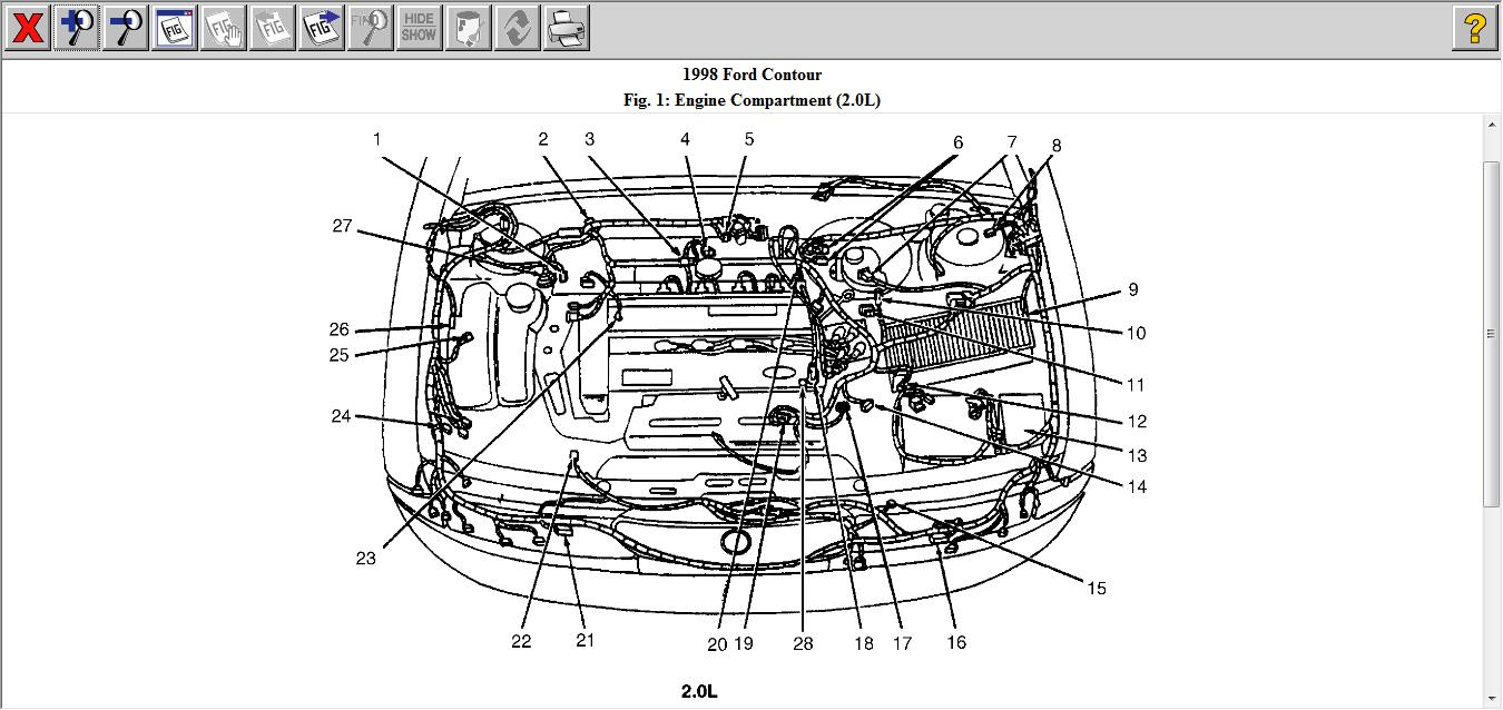 Which Transmission Speed Sensor Would Cause My To 2000 Ford Contour Engine Diagram Thumb