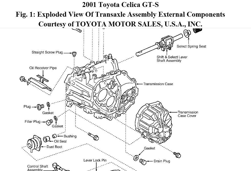 2001 toyota celica engine diagram