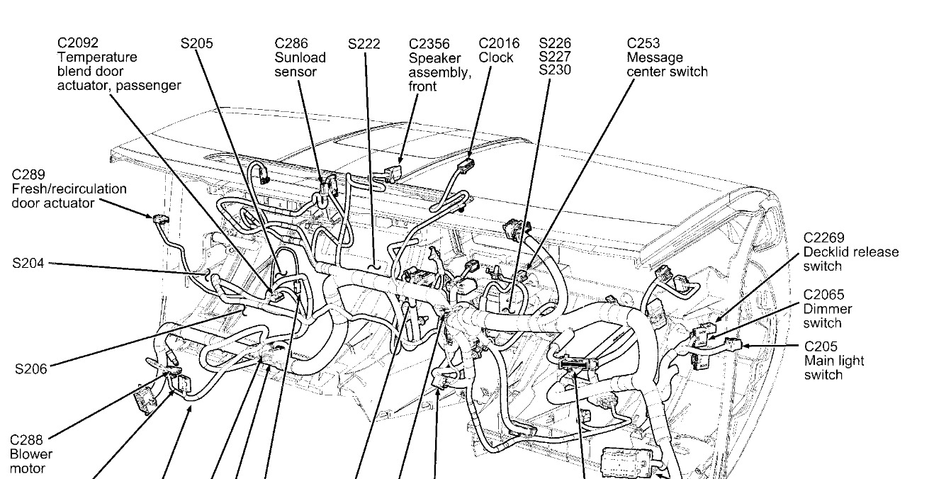 a c compressor wont turn on a c quit working some time ago and i2007 Ford Fusion A C Wiring Diagram #7