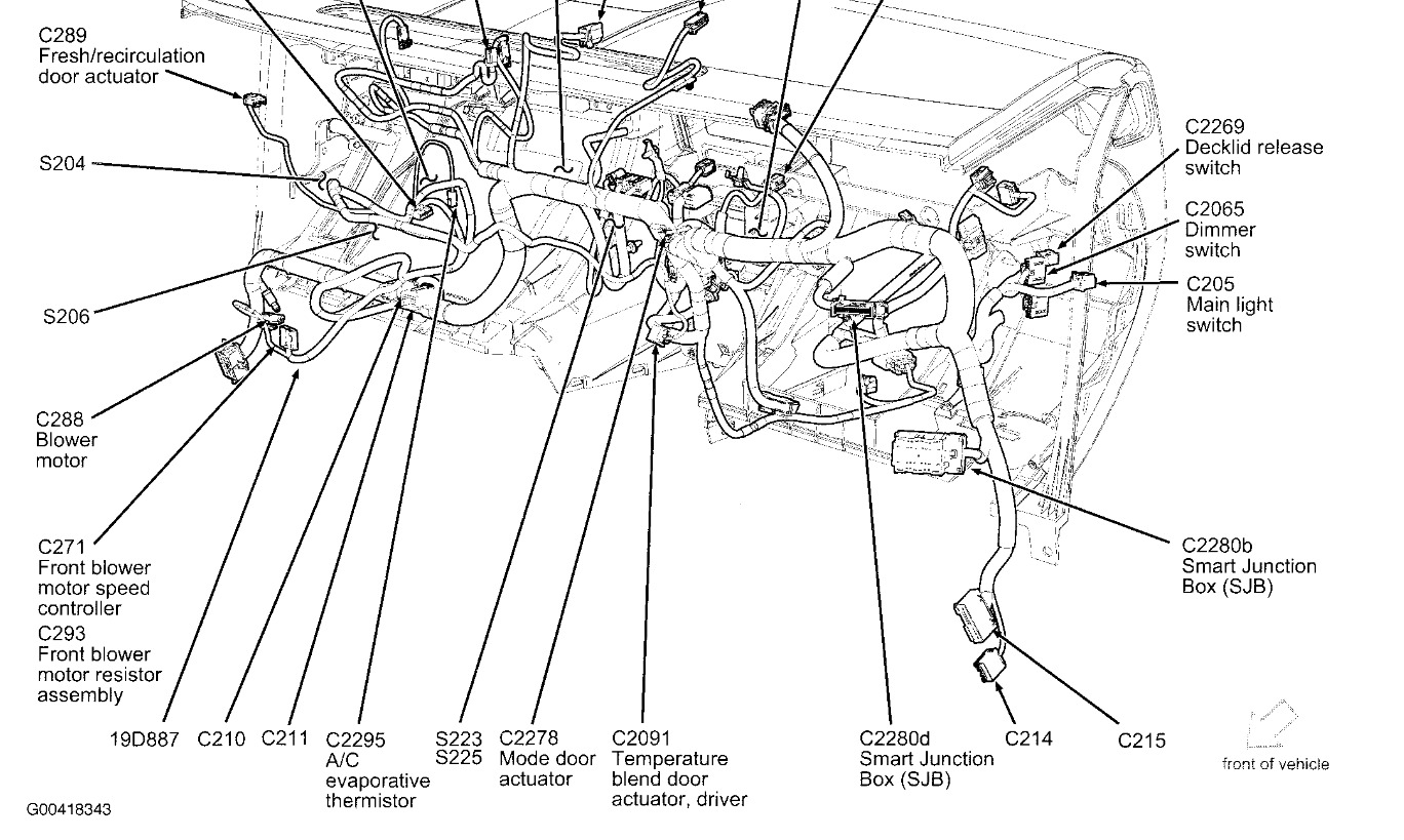 a c compressor wont turn on a c quit working some time ago and i2007 Ford Fusion A C Wiring Diagram #9