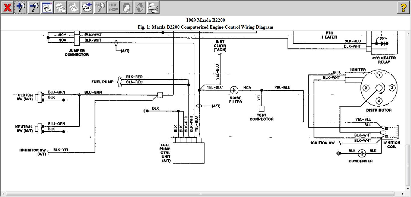 91 Mazda B2200 Wiring Diagram Not Lossing Rx7 Fuel Pump 92 Todays Rh 18 16 10 1813weddingbarn Com 1991 B2600 Electrical