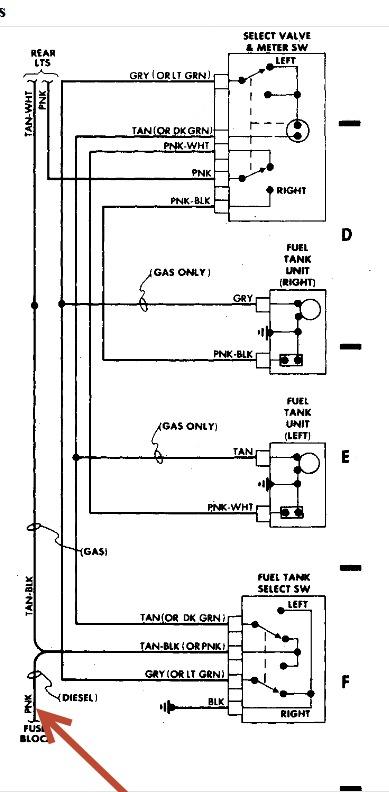 1987 Chevy Truck Fuel Pump Wiring Diagram