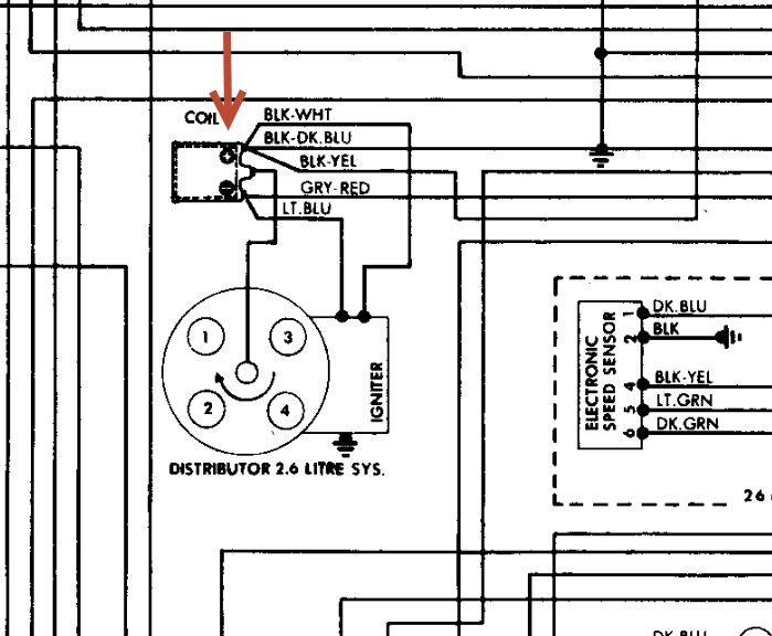 Chrysler Coil Wiring Diagram - Example Electrical Wiring Diagram •
