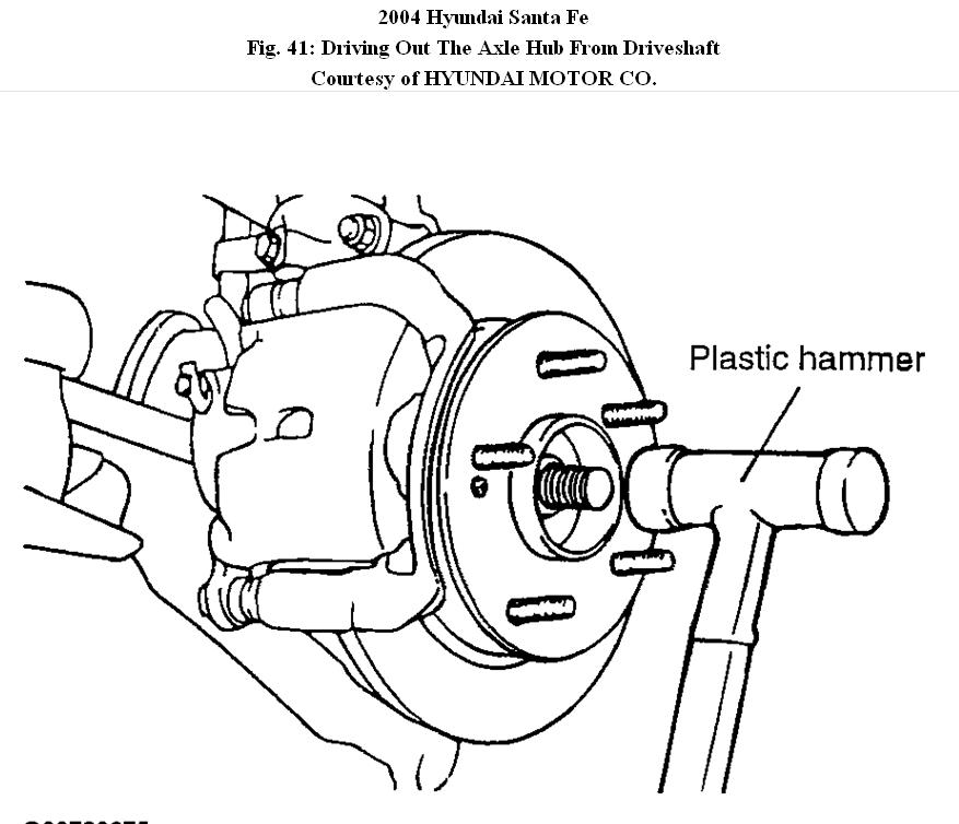 service manual  diagram of transmission dipstick on a 2004