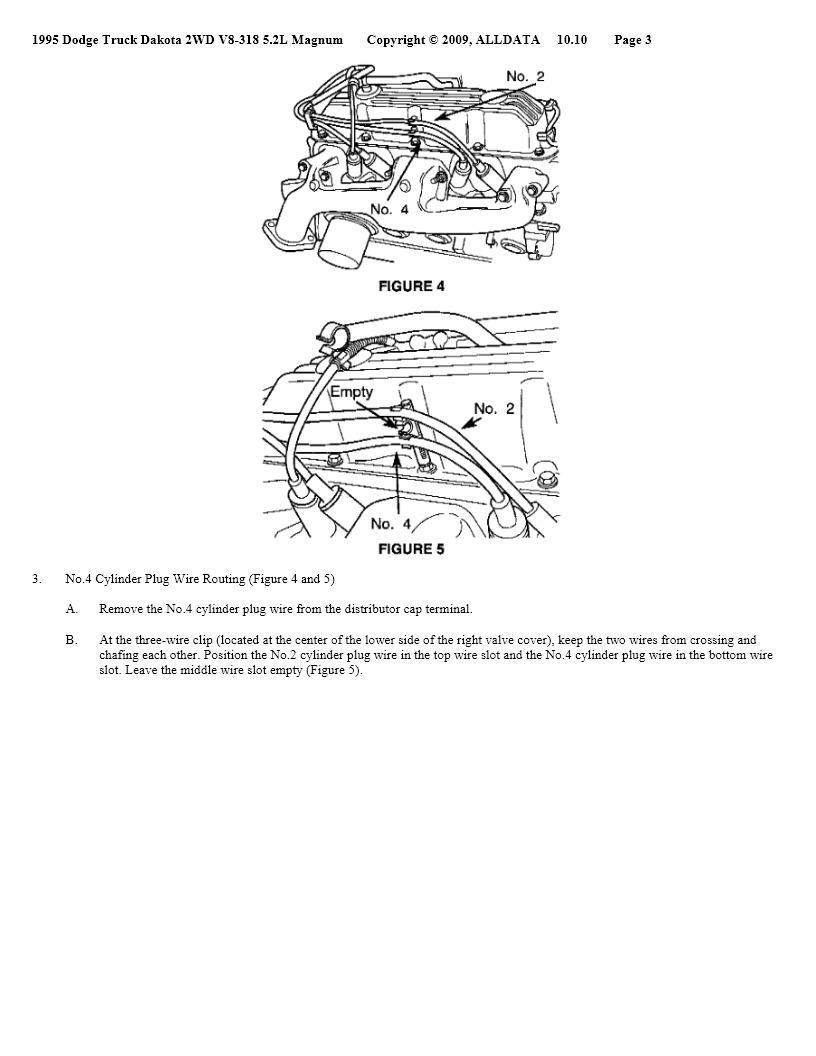 1995 Dodge Dakota No Spark I Have The 52 Litter V8 It Starts Up Ram Pcm Wiring Diagram Thumb