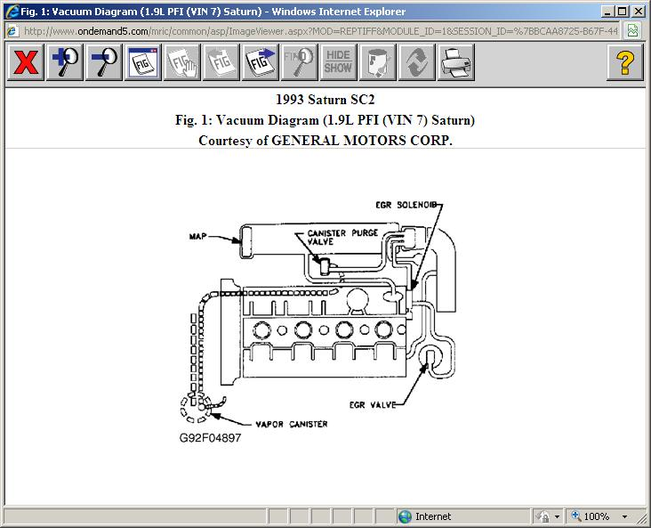 93 SC2 Dohc Vaccum Line Routing: Have to Lines , in Which ...