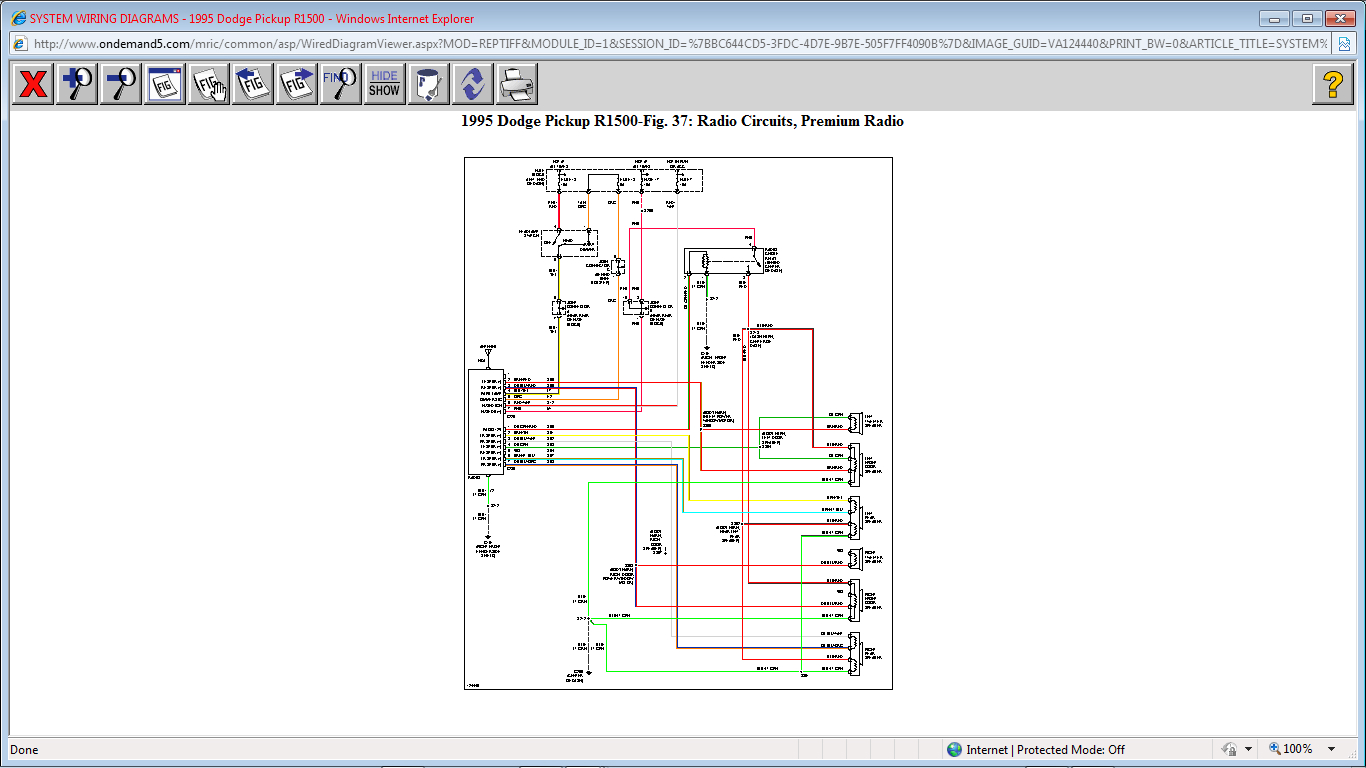 original how to wire rear speakers on a 95 dodge ram 1500 1995 dodge ram 1500 wiring diagram at soozxer.org
