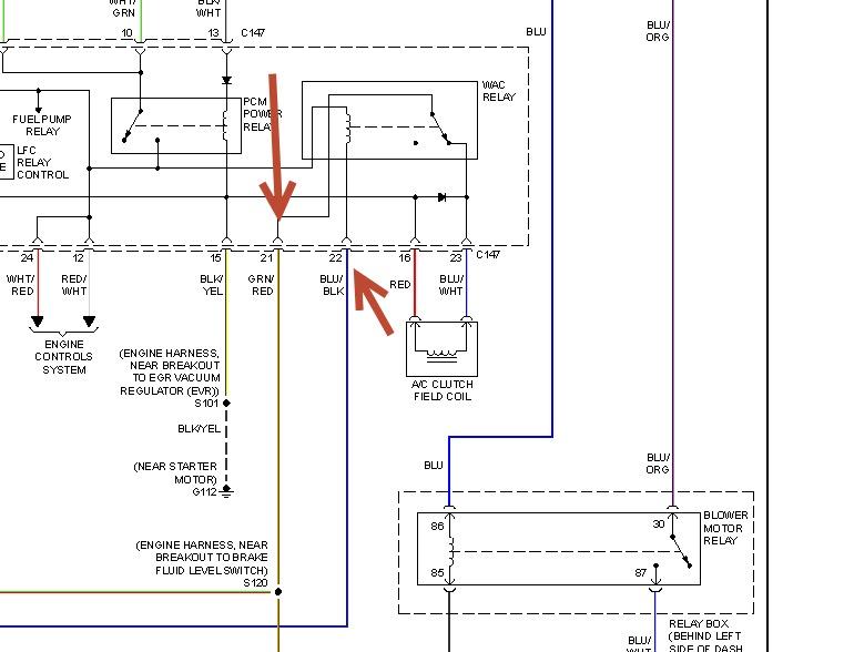 1998 ford escort air conditioner won't work all air ac heater diagram ac wire diagram 1998 zx2 #12