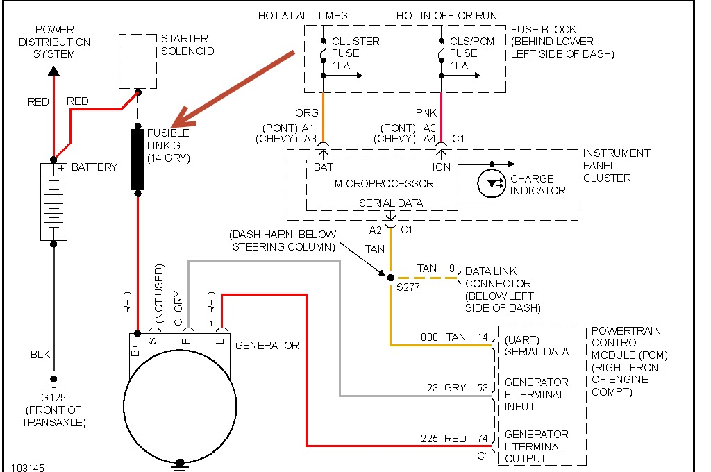 Wiring Diagram For 1998 Pontiac Sunfire