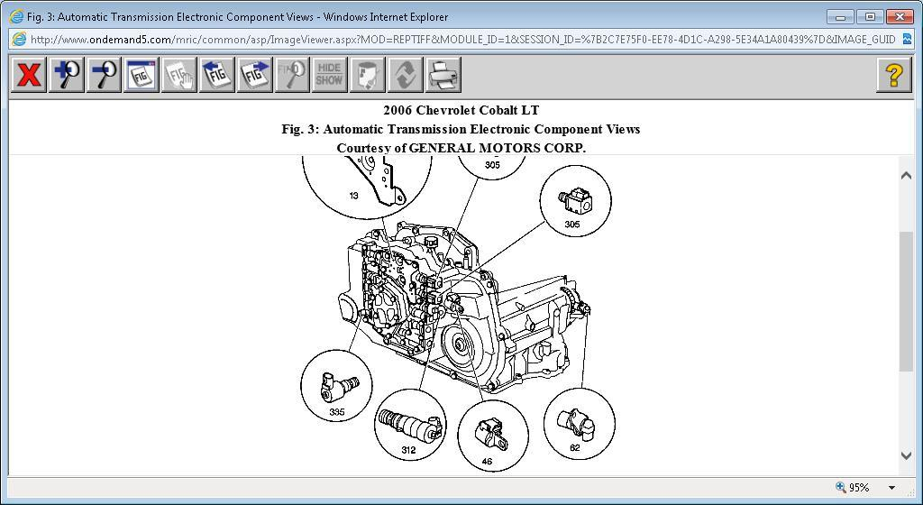 2006 Chevrolet Cobalt Input Sensor Location: Where Is the INPUT ...