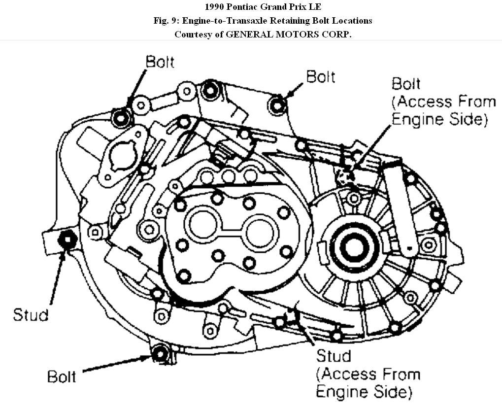service manual  1985 pontiac grand prix transmission