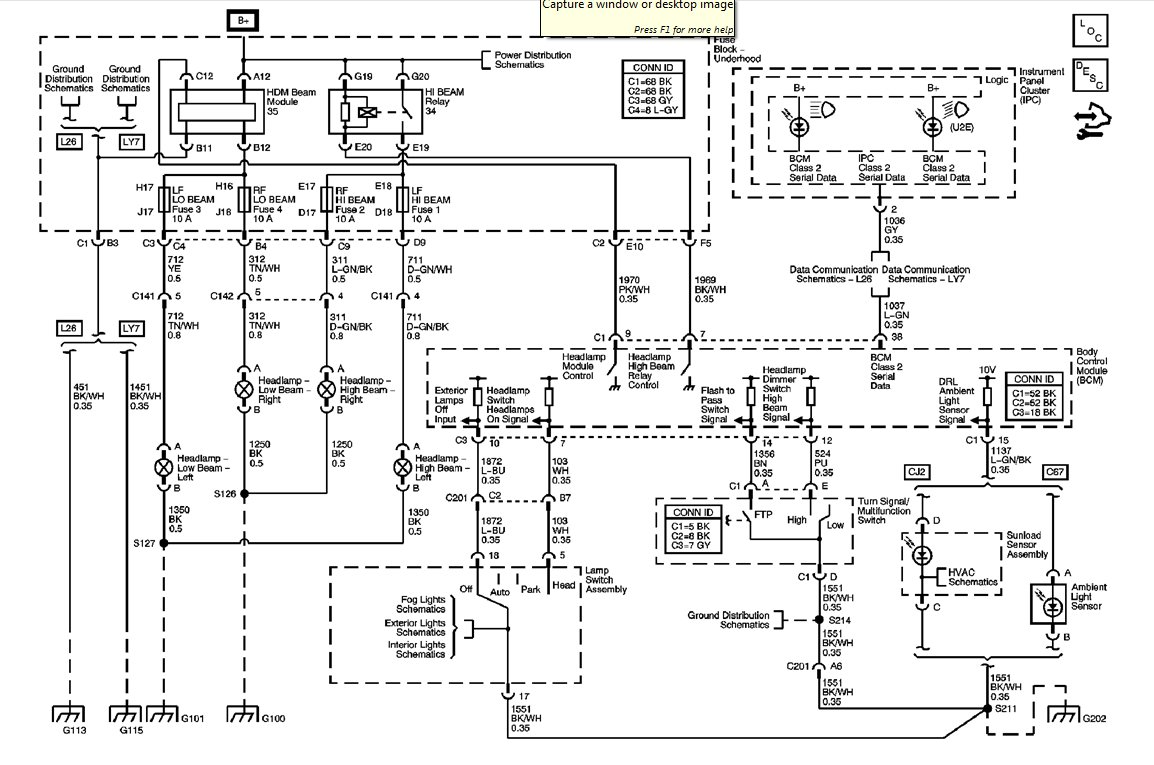 2005 Buick Wiring Diagram Schematic Diagram Data