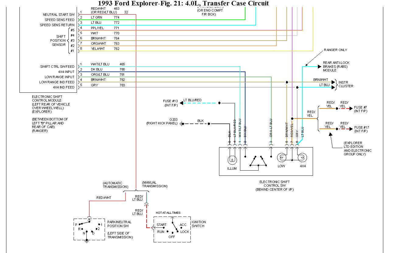 Four Wheel Drive Will Not Engage The 1994 Ford F 150 4x4 Wiring Diagram Thumb