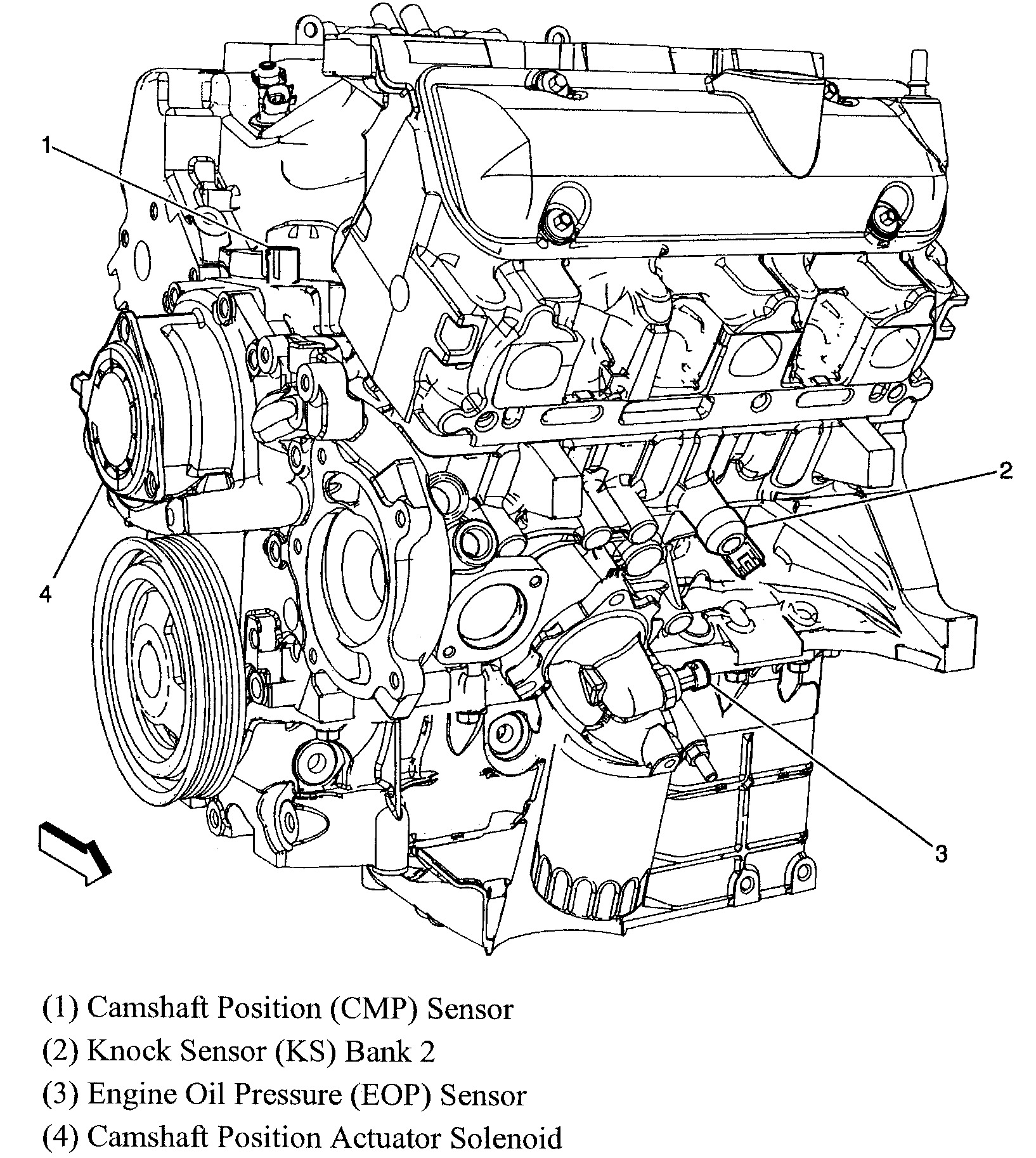 Chevy 3 1 Engine Diagram Camshaft Position Sensor - Wiring ...