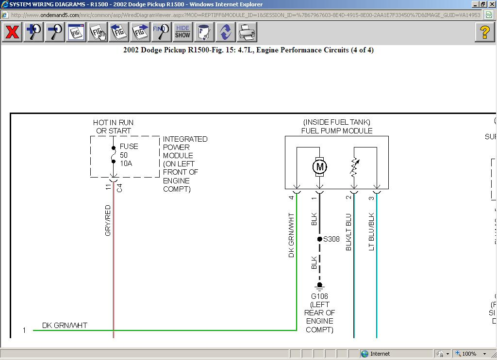 Wiring Diagram For 1999 Dodge Ram 1500 Database