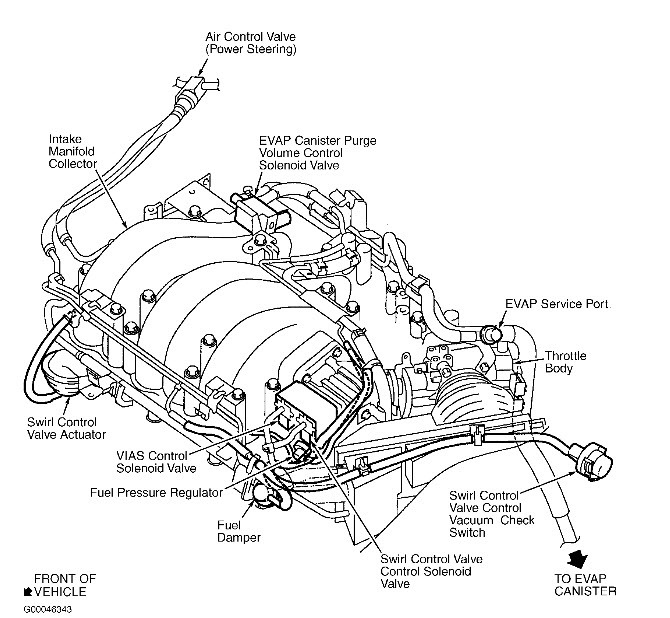 96 Nissan Maxima Engine Vacuum Diagram