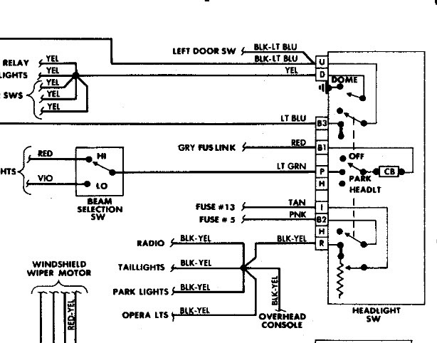 wiring diagram 1988 dodge diplomat wiring diagram u2022 rh tinyforge co 1988 Dodge Diplomat Interior 1988 Dodge Diplomat Blue