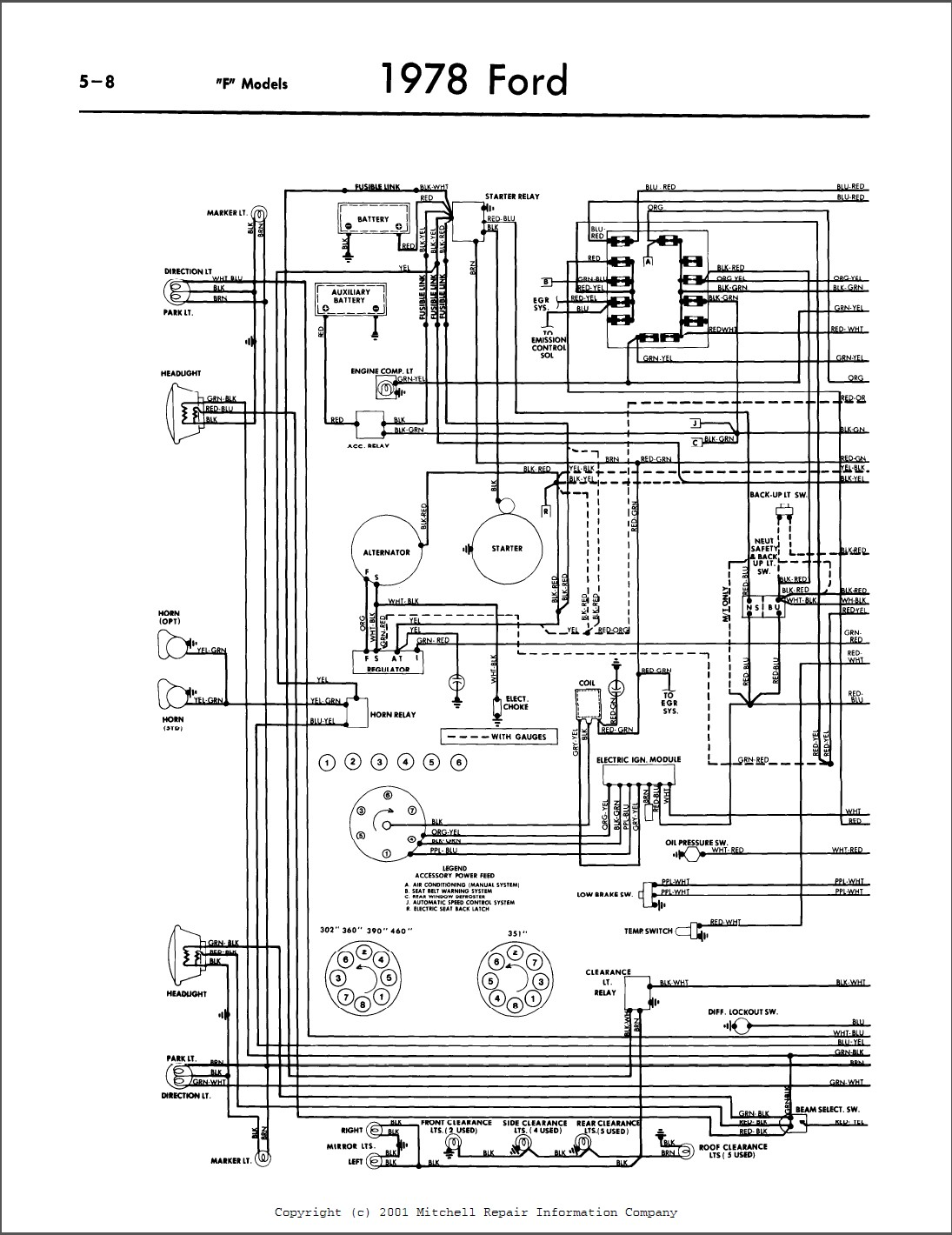 1978 Ford Dual Tank Diagram  I Need To Know How To Redo