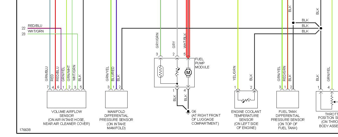 original 2003 galant with no power to fuel pump? 2003 mitsubishi lancer es wiring diagram at n-0.co