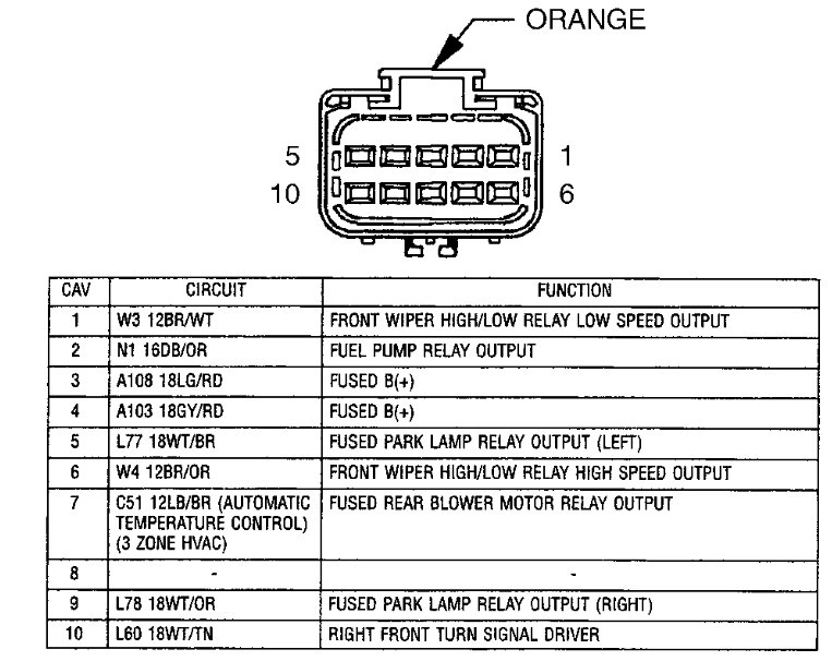 Wiring Schematics For 2006 Chrysler Town And Country Wiring