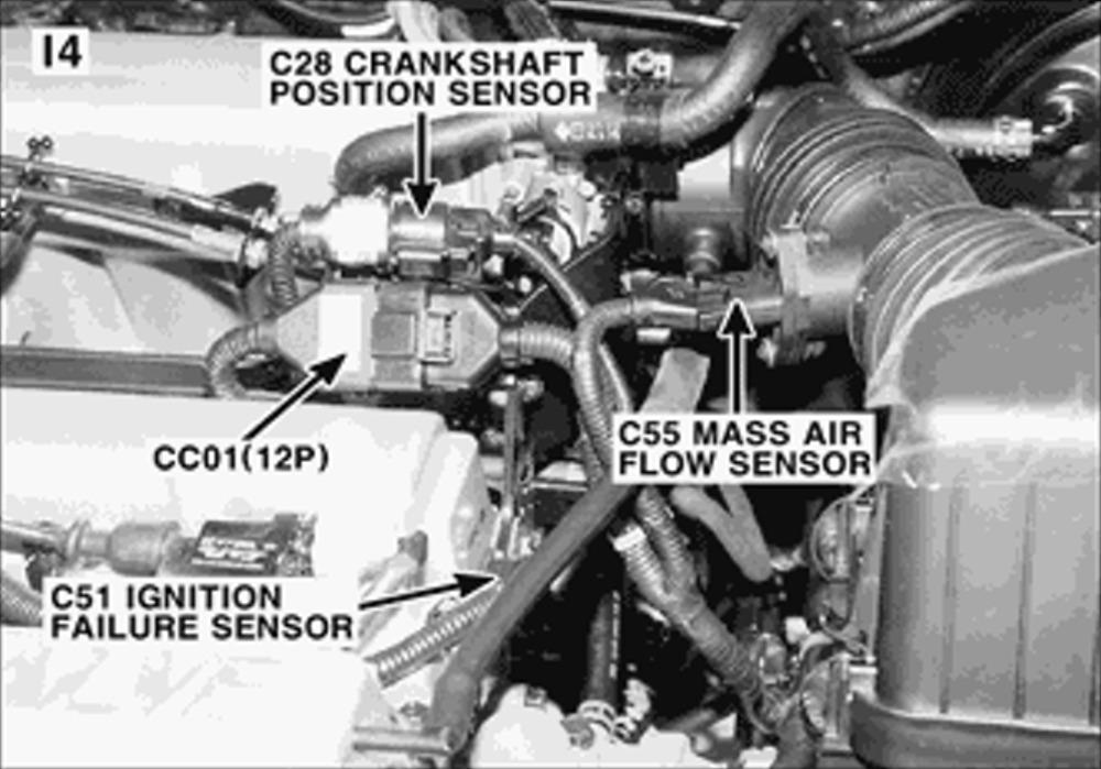 2001 Hyundai Santa Fe Ignition Failure Sensor: I Have a ...