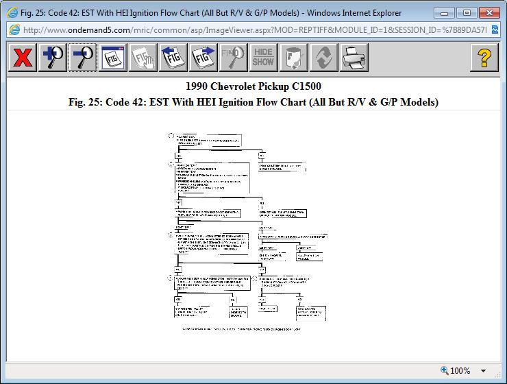 1988 Chevy Silverado Code 42: Computer Problem 1988 Chevy
