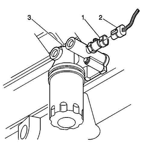 changing oil pressure sensor unit on nothstar v82006 Buick North Star Engine Diagram #19
