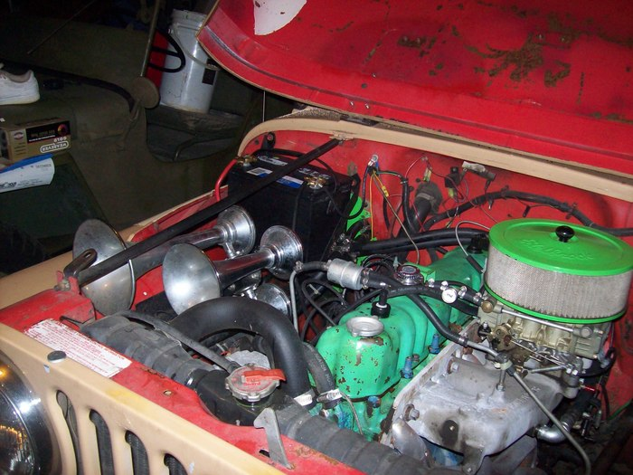 amc javelin cranks  has spark and gas in the carburetor