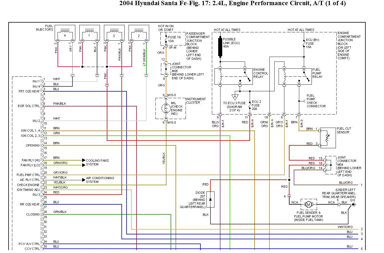 2004 hyundai santa fe no power to fuel pump 91 Toyota Pickup AC Diagram wiring diagram for 2004 hyundai elantra