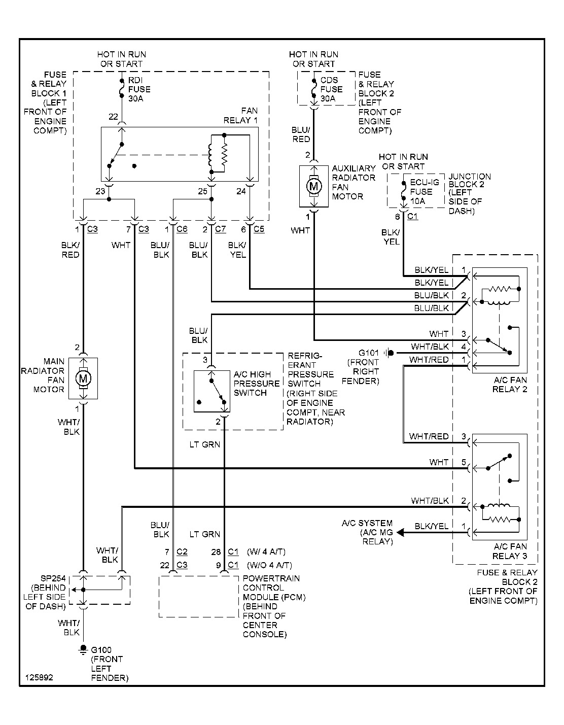 2000 chevy prizm engine diagram